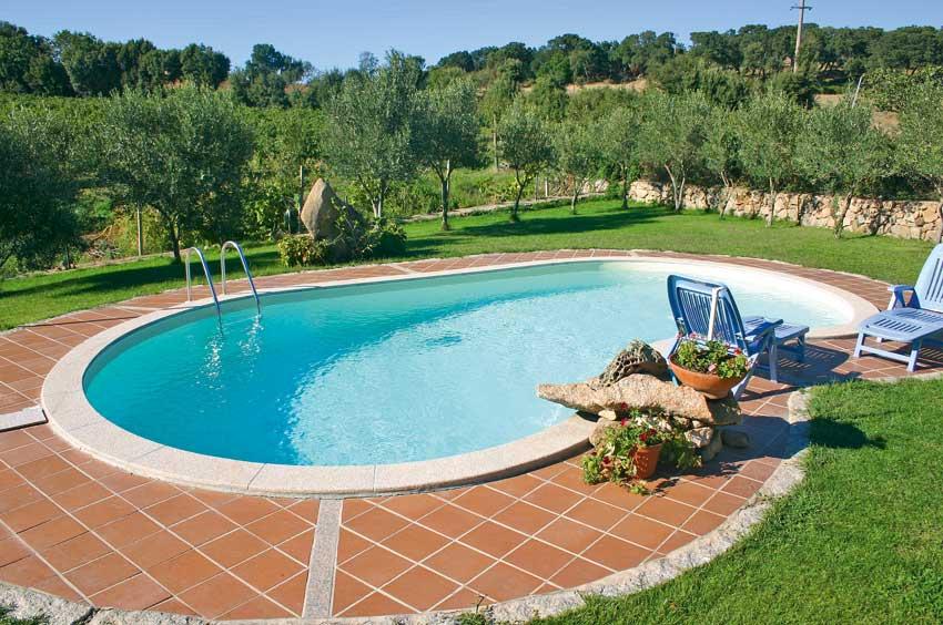 Amazing affordable piccole piscine da giardino piscina in cemento armato with piccole piscine da - Piscine piccole da giardino ...